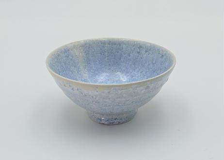 B21 雪結晶釉 茶碗 青