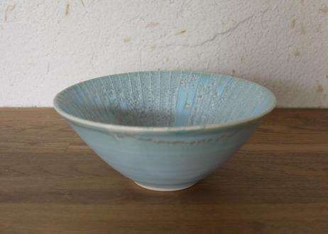A71色彩結晶釉中鉢ブルー