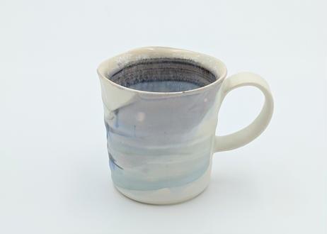 B104 色彩マグカップ 紫×藍