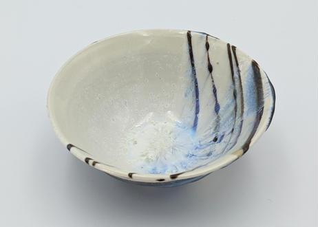 B32 色彩結晶釉 茶碗 本黒ながし