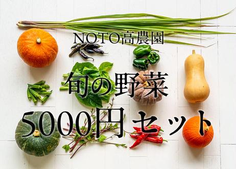 【通年販売】グランシェフ御用達の旬の野菜 5000円セット(税込・送料別)
