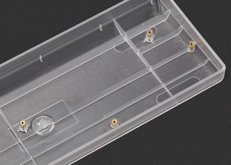 KBDfans 60% PLASTIC CASE(60%キーボード用ケース/半透明クリア)