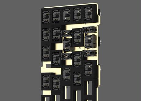 KBDfans module foam 静音用ウレタンフォーム
