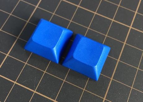 DSA PBT ブランク キーキャップ (ダークブルー/2個)