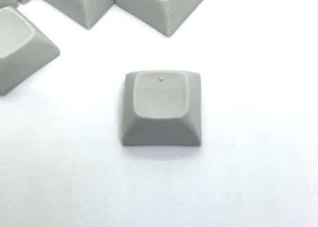 TEX ADA ホーミング ブランクキーキャップ (2個/PBT ライトグレー)