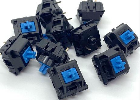 CHERRY MX BLUE キースイッチ(青軸/3ピン/61.2g/クリッキー/10個)