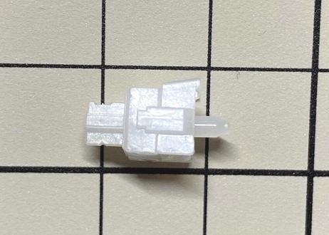 DUROCK Full POM スイッチ(ブラック/ホワイト/5ピン/リニア/63.5g/5個)