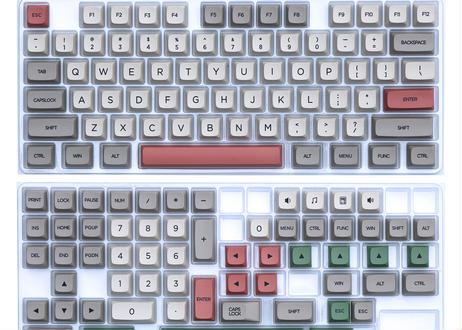 XDA DyeSub PBT 131 キーキャップセット(9009カラー)