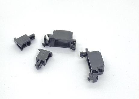 ノーブランド 2U PCBマウント スタビライザー(ブラック/スチール)