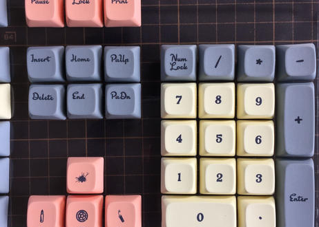 XDA Western world 108 keycap set