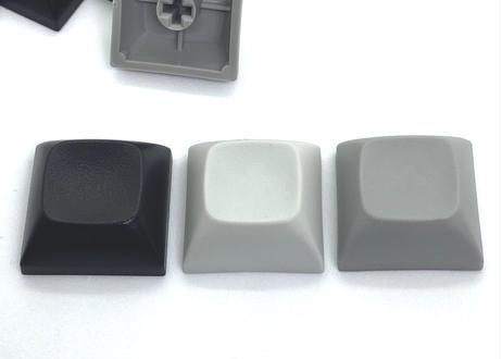 TEX ADA 1Uブランクキーキャップ (2個/ABSブラック/PBTグレー/PBTライトグレー)