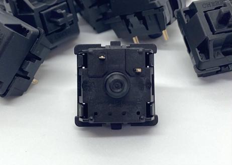 CHERRY MX BLACK キースイッチ(黒軸/3ピン/61.2g/リニア/10個)