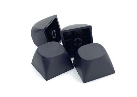 IDOBAO MA PBT ブランクキーキャップ(ブラック/2個)