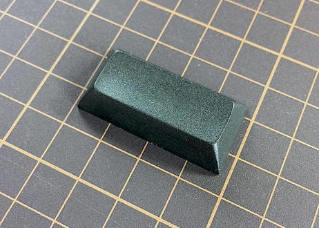 DSA PBT ブランク キーキャップ (1個/2U/ブラック/グレー/オフホワイト/ホワイト)