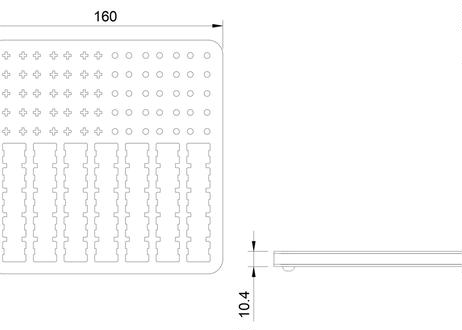 KBDfans switches lube station ルブ用小型作業ボード(アクリル/グレー)