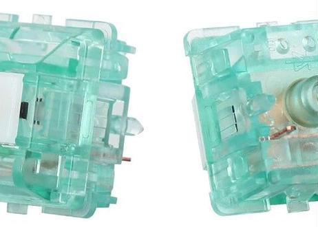 DUROCK T1 Shrimp サイレントタクタイルスイッチ(ブルートルマリン/クリア/5ピン/67g/5個)