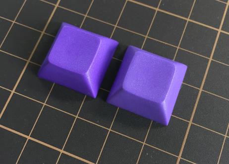 DSA PBT ブランク キーキャップ (ダークパープル/2個)