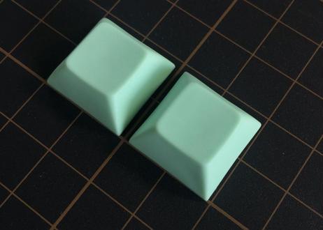DSA PBT ブランク キーキャップ  (ライトグリーン/2個)