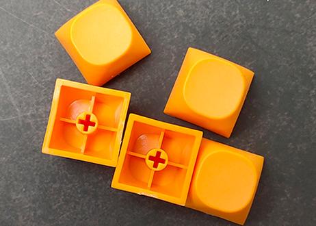IDOBAO MA PBT ブランクキーキャップ(オレンジ/2個)