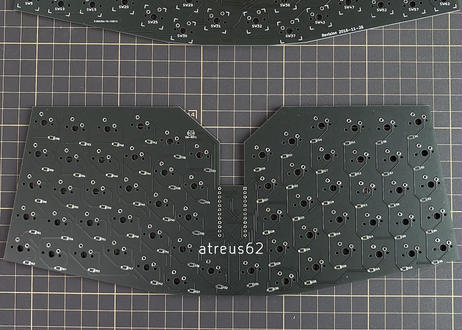 Atreus62 (基板単体)