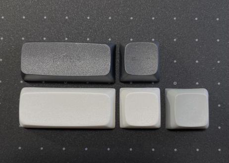 XDA V2 Gentleman Dye Sub PBT キーキャップセット(ブラック/イエロー)