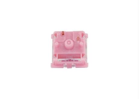Gazzew Boba Gum サイレントリニアキースイッチRGB(ピンク/5ピン/62g/5個)