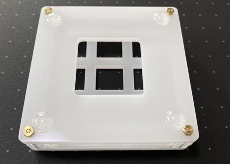 TALPKEYBOARD キースイッチテスター (3x3 /半透明ホワイト)