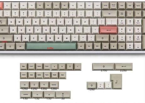 9009 DSA PBT DyeSub 96 キーキャップセット