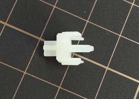 DUROCK Full POM スイッチ(ブラック/ホワイト/5ピン/リニア/63.5g/5個)ファクトリールブ済