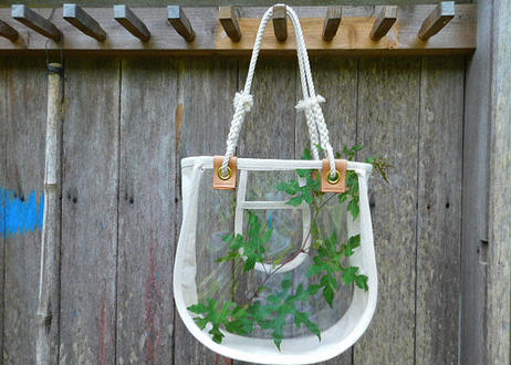 """KNOT bag """"CLEAR"""""""