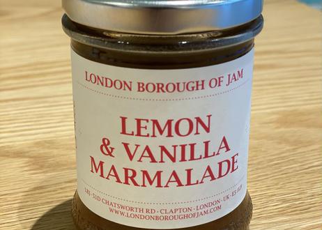 LONDON BOROUGH OF JAM / LEMON & VANILLA MARMALADE