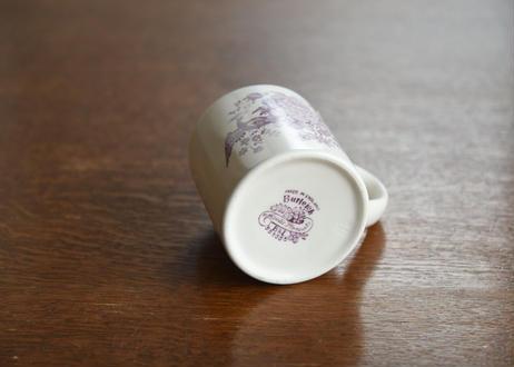 Burleigh Plum Asiatic Pheasants Mug
