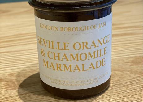 LONDON BOROUGH OF JAM / SEVILLE ORANGE & CHAMOMILE MARMALADE