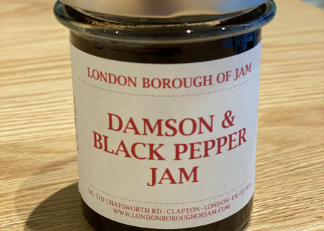 LONDON BOROUGH OF JAM / DAMSON & BLACK PEPPER JAM
