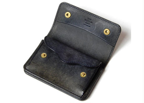COIN & CARD CASE (NAVY)