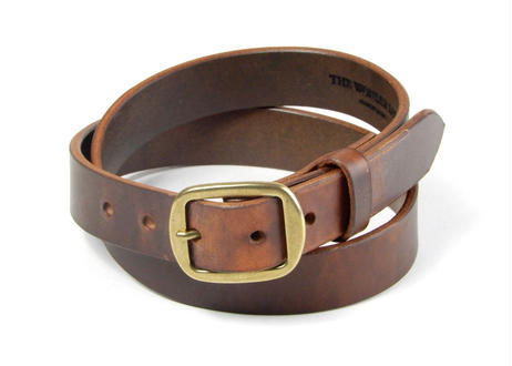 30mm PLAIN BELT (CHOCO)