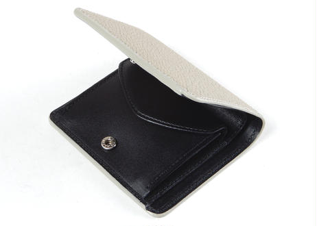 BIFOLD WALLET (L/GRY × BLACK)