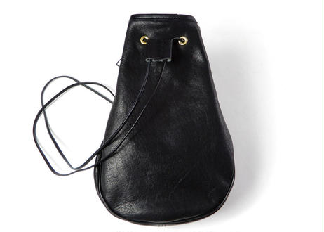 LEATHER TASSEL POUCH