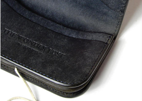 CONCHO CARD CASE (NAVY)