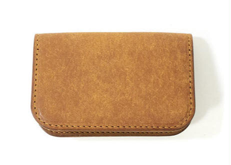 CARD CASE (Camel)