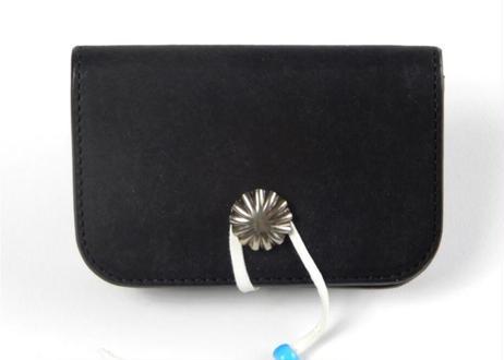 925 CONCHO CARD CASE (Black)