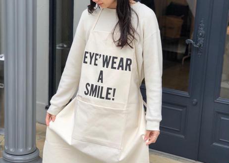 DRESSSEN × YUICHI TOYAMA.『'EYE'WEAR A SMILE!』APRON