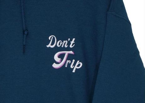 Nahalat Bad trip pull over hoodie / Smoky blue