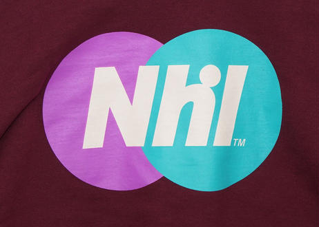 Nhl Sporting logo crewneck sweat / Wine