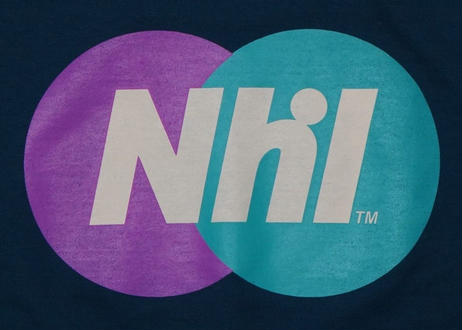 Nhl Sporting logo crewneck sweat / Smoky blue