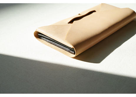 hourglass long wallet -envelope type-