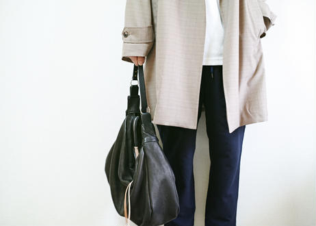 three fifteen shoulder bag -deer skin-