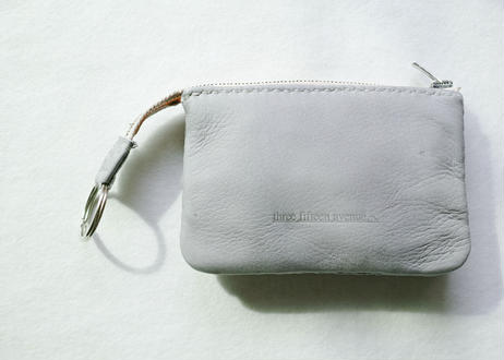 three fifteen  compact  wallet  -deer skin-