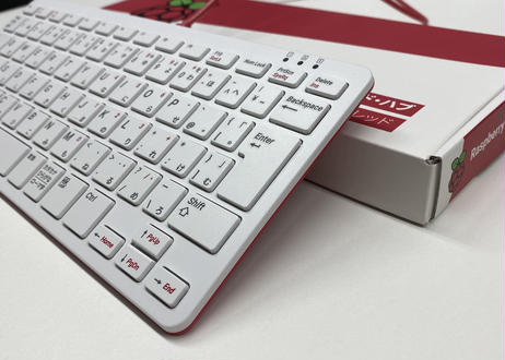 Raspberry Pi オフィシャルキーボード 赤/白