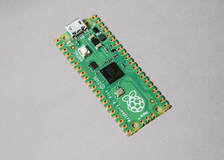 ピコ1150円コース(ピンヘッダはんだづけ済,即発送):Raspberry Pi Pico(ツクレルオンライン教材付き)